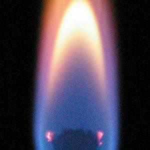 Meditationsflamme Energie Saphierblau aus der Ursprungsenergie lebendig energetisiert