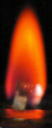 Meditationsflamme Energie Rubinrot-gold aus der Ursprungsenergie lebendig energetisiert